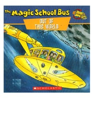 texts         OUT OF THIS WORLD - ENGLISH - MAGIC SCHOOL BUS                                    by     JOANNA COLE, BRUCE DEGEN