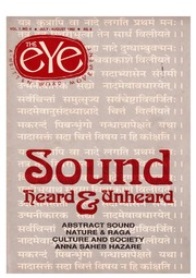 texts         THE EYE - SPICMACAY -  JULY-AUG 1992 - SOUNDS HEARD AND UNHEARD                                    by     SPICMACAY / EYE TEAM