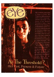 texts         THE EYE - SPICMACAY -  MARCH 1997 - AT THE THRESHHOLD                                    by     SPICMACAY / EYE TEAM