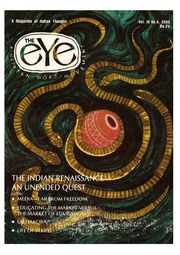texts         THE EYE - SPICMACAY - VOL3, NO 4, 1995 - THE INDIAN RENAISSANCE                                    by     SPICMACAY / EYE TEAM
