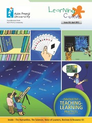 texts                LEARNING CURVE - ISSUE 19 - APRIL 2013                                    by     AZIM PREMJI UNIVERSITY