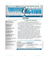 texts                THOUGHT AND ACTION - RATIONALIST MAGAZINE - 2008 ALL                                    by     PRABHAKAR NANAVATI