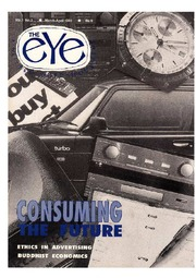 texts                THE EYE - SPICMACAY - MAR-ARP 1992 - CONSUMING THE FUTURE                                    by     SPICMACAY / EYE TEAM
