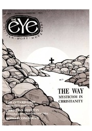 texts                THE EYE - SPICMACAY - NOV-DEC 1992 - THE WAY MYSTICISM IN CHRISTIANITY                                    by     SPICMACAY / EYE TEAM