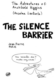 texts                THE SILENCE BARRIER - ENGLISH - JEAN PIERRE PETIT                                    by     JEAN PIERRE PETIT