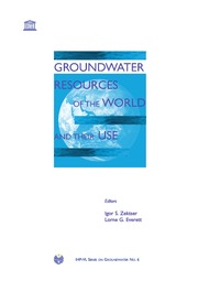 texts         SOG 6 Groundwater Resources Of The World And Their Use                                    by     UNESCO