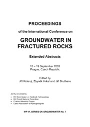 texts                SOG 7 Groundwater In Fractured Rocks                                    by     UNESCO